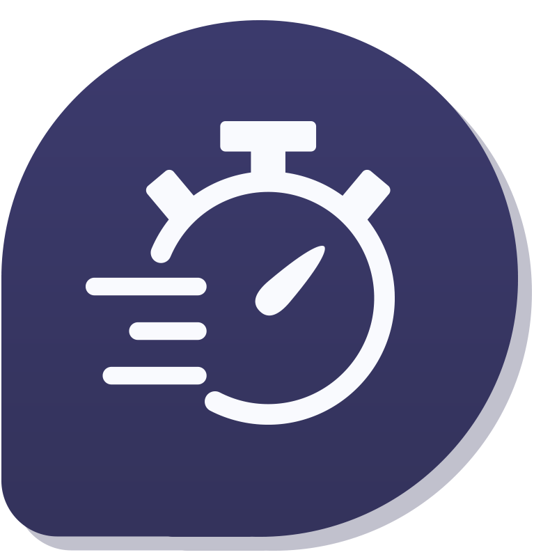 Icoon timer van urenregistratie